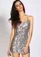 Wyldr Elbise Gümüş